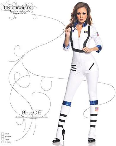 Amazon.com: Underwraps disfraz de astronauta para mujer ...