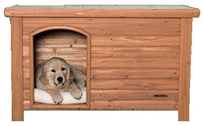 Precision Pet Outback Log Exterior Dog House
