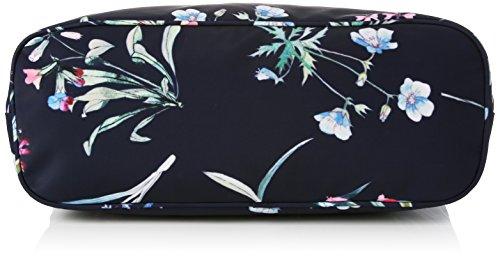 Bolsa Joules navy Lonas Cariwell Azul y Recubiertas De Botanical Carrywell ZddwH7q