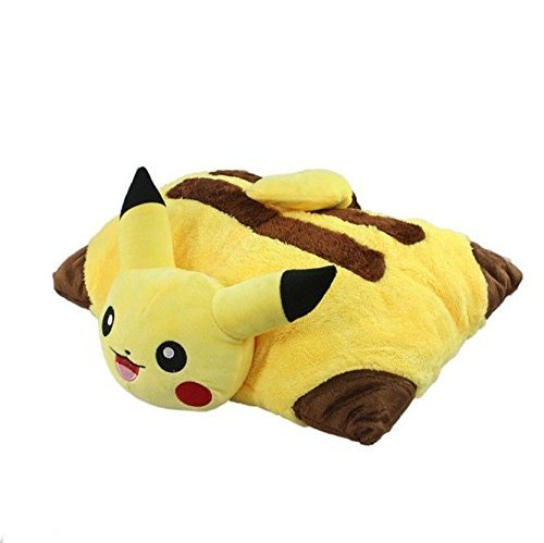 Pikachu Plush Doll Decorative Cartoon Pokemon Pet Cushion Pillow Plush Doll Toy -CN#b4err4-gr4e g145e12156 by meccephy