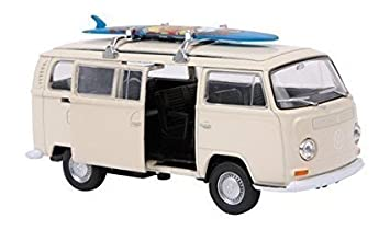 Boxed White 1972 T2 Scale Model VW Camper Van Bus Toy Split Screen Hippy Surf