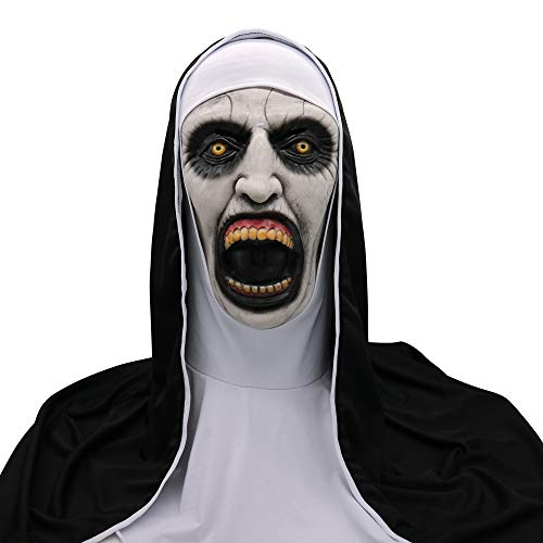 Fenleo Creepy Scary Halloween Cosplay Costume Mask for