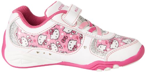 b74b5bee9 Amazon.com | Stride Rite Hello Kitty Alternative Closure Light-Up Running  Shoe (Toddler/Little Kid), White/Pink, 4 W US Toddler | Sneakers