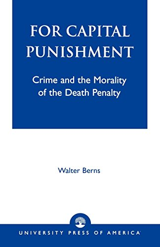 For Capital Punishment