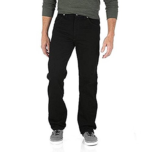 Wrangler Men's Relaxed Fit Jeans - Black