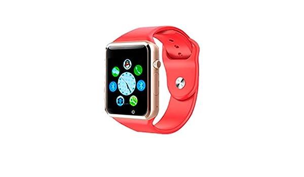 ICARUS Smartwatch Alaska para Smartphone y Table color Rojo ...