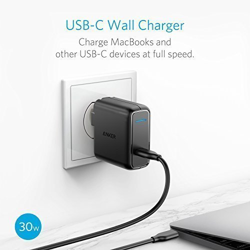 41v86XwBqCL - Anker PowerCore+ 26800 PD with 30W Power Delivery Charger, Portable Charger Bundle for iPhone X/8, Nexus 5 X 6P, LG G5 & USB Type-C Laptops (e.g. 2016 MacBook) Power Delivery Support