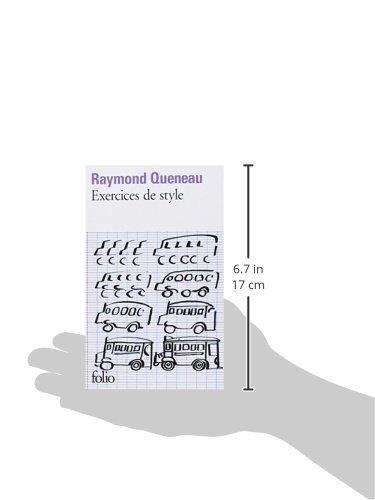 Amazon Fr Exercices De Style Queneau Raymond Livres