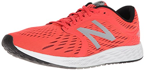 New Balance Men's Zante v4 Fresh Foam Running Shoe, Orange/Black, 10 D US