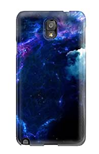 High Grade DeirdreAmaya Flexible Tpu Case For Galaxy Note 3 - Deep Space