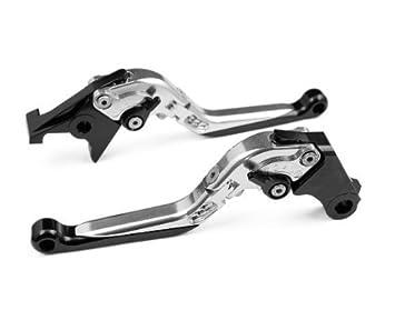 Adjustable Folding Extendable Brake Clutch Levers for BMW F800GS 2008-2015,F800R 2009-2015,F800GT 2013-2015,F800ST 2006-2015,F800S 2006-2014,F700GS 2013-2015,F650GS 2008-2012-Orange