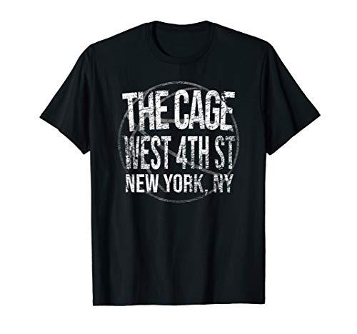 Basketball New York City THE CAGE Throwback Retro T Shirt