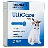 UltiCare Vet Rx Lancets For Dogs, 26g, 100 Count Box, My Pet Supplies