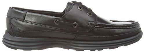 Black Kickers Lthr Boat Shoes Reasan Black Am Men's Boat SrSx40wq