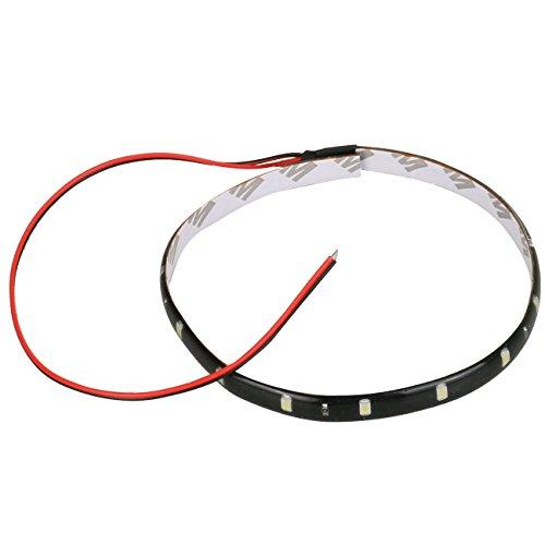Strobe Corner - Car Light,12V 30CM 15SMD LED Waterproof Flexible Light Strip for Car Turn Signal Light/Backup Light/Corner Light/Stop Light/Parking Light/Tail light