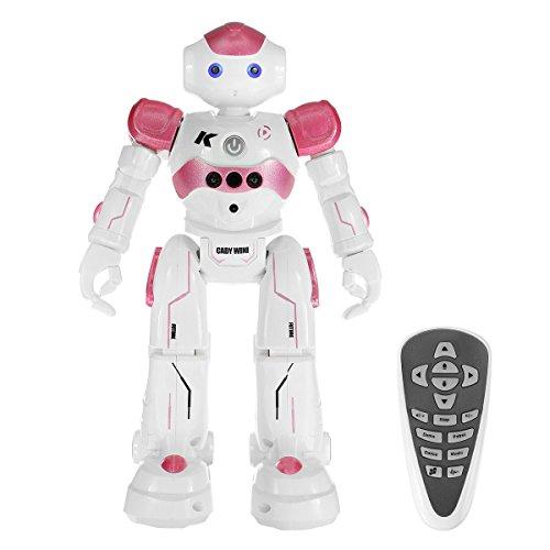 pink robot toy - 1