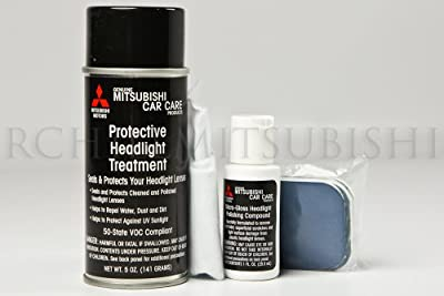 Genuine Mitsubishi Oem Galant Headlight Restoration Polishing Kit 501100091