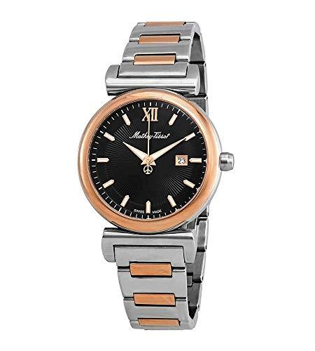 Mathey-Tissot Elegance Black Dial Unisex Watch H410BN