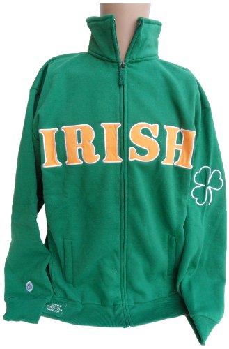 Ireland Full Zip Sweatshirt, Large