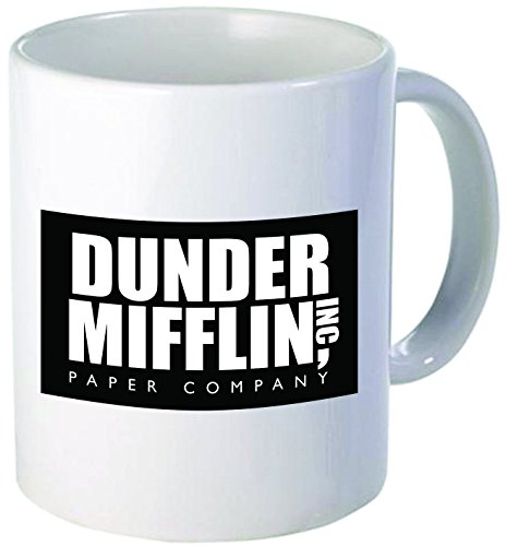 Dunder Mifflin The Office - Funny coffee mug by Donbicentenario - 11OZ - SHIPS FROM USA What I Got For Christmas 2017