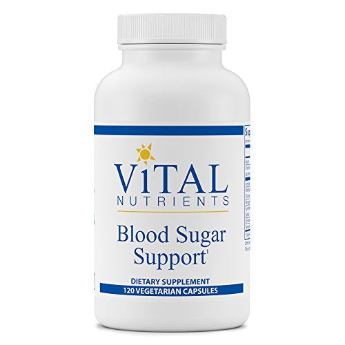 Vital Nutrients - Blood Sugar Support - Support for Normal Blood Sugar Levels in Healthy Individuals - 120 Capsules by Vital Nutrients