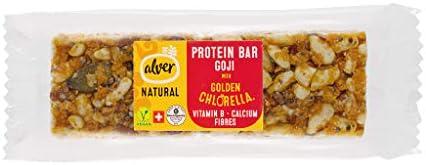 Alver BIO Protein Riegel mit Goji Beeren - 20 Stck. Box