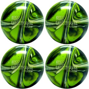 Epco Candlepin Bowling Ball- Urethane Pro-Line - Lime Gre...