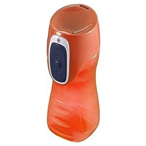 Contigo Trekker Kids Water Bottle, 14oz, Sapphire Nectarine & Citrus, 3-Pack