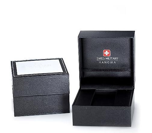 Swiss Military Hanowa Men s 06-4143-13-007 Revenge Chronograph Black Dial Watch