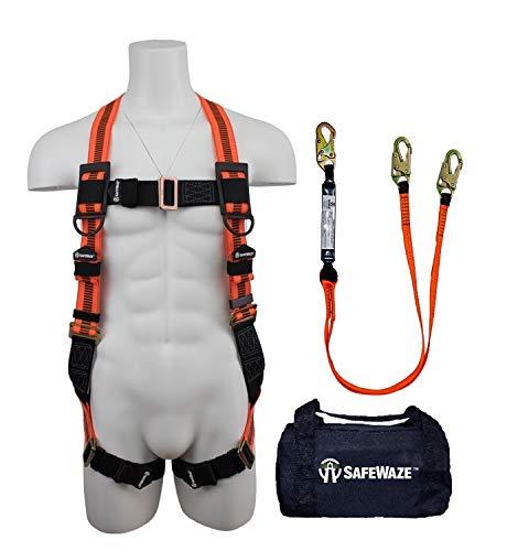 (SafeWaze FS126-E-DL Fall Protection Kit (FS99280-E, FS88561-E in FS8125 Bag))