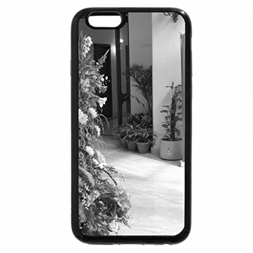 iPhone 6S Case, iPhone 6 Case (Black & White) - A welcoming arrangement.