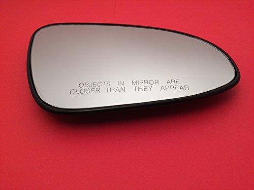 (K Source Fits 14-17 Corolla Right Passenger Convex Mirror Glass Lens w/Rear Holder)