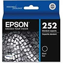 Epson 252 - Black - Original - Ink Cartridge - For Workforce Wf-3620, 3640, 7110, 7610, 7620, Workforce Pro Wf-5190, 5620, 5690