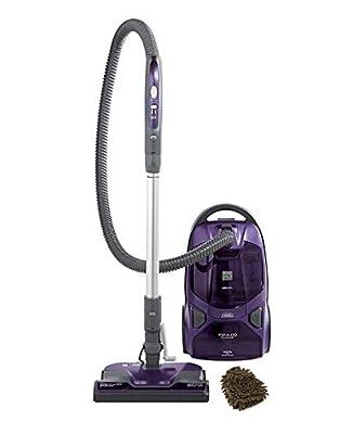 Kenmore 81614 Vacuum 600 Series Bagged Canister Cleaner, with Pet PowerMate, Purple (Complete Set) w/Bonus: Premium Microfiber Cleaner Bundle