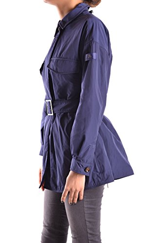 Peuterey Azul Poliéster Coat Trench Mujer MCBI235118O 1fqPW1Br