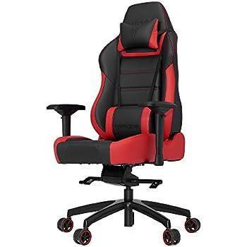 Vertagear P-Line PL6000 Racing Series Gaming Chair - Black/Red (Rev. 2)