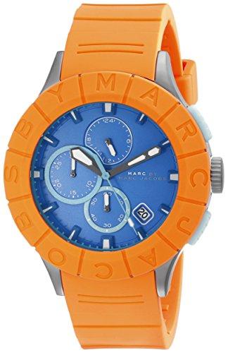 Marc by Marc Jacobs Men's MBM5545 Analog Display Analog Quartz Orange Watch