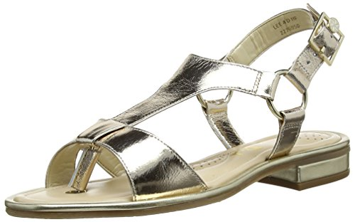 Van Dal Women's Lee Cone Heel Sandals Gold (Gold) xd1cBa