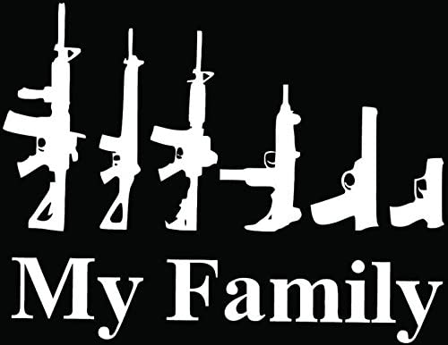 Silly Boys Guns Are For Girls Home Decor Car Truck Window Decal Sticker