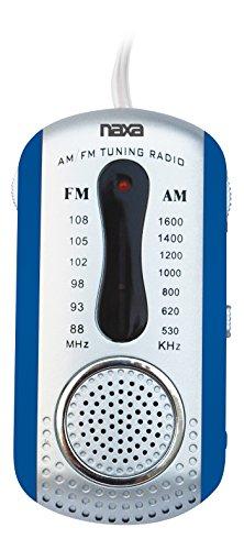 NAXA Electronics Portable Home Audio Radio,Blue