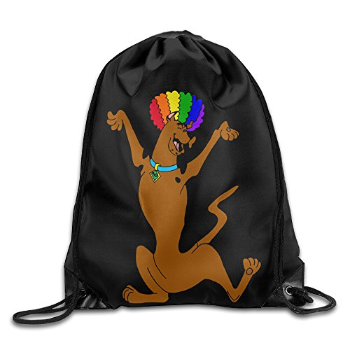 [Gym Sackpack Scooby Doo Dog Personalized] (Daphne And Velma Costumes For Kids)