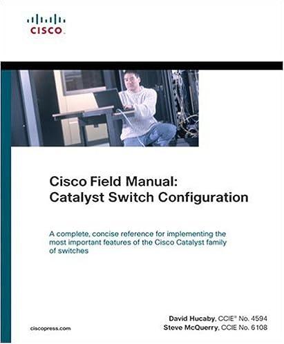 cisco field manual catalyst switch configuration 0619472050439 rh amazon com Cisco Home Router Setup Cisco Router Cheat Sheet