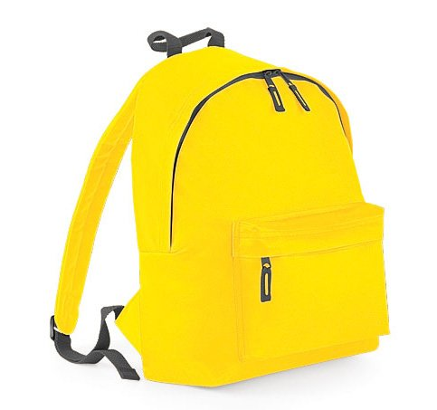 Price comparison product image Bagbase Fashion Backpack / Rucksack (18 Liters) (One Size) (Yellow / Graphite Gray)