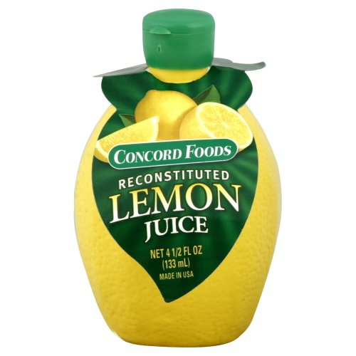 Concord Foods Lemon Juice 4.5 oz (Pack of