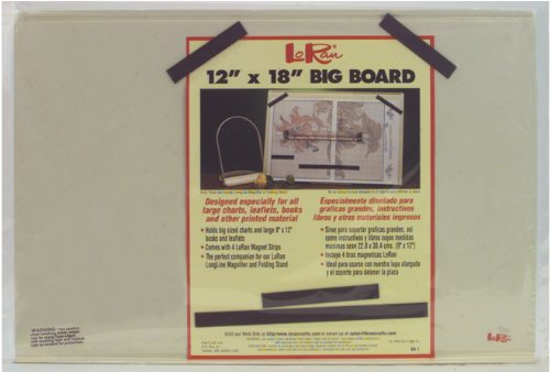 - LoRan BB-1 Magnet Big Board, 12 x 18-Inch