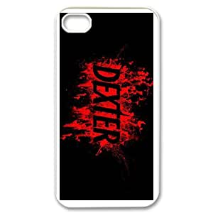 Unique Disigned Phone Case With Dexter Blood Image For iPhone 4,4S
