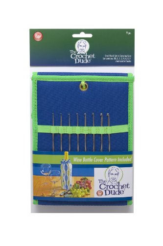 Boye Crochet Dude Steel Hook Set-Includes Sizes 00012468 and 9