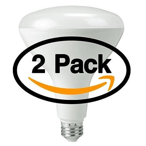Dimmable Philips 420562 14.5-watt 75-wattAirFlux LED BR40 Warm White Flood Light Bulb