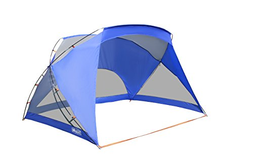 ALPHA CAMP 3 Person Sports/Beach Shelter Easy Up Sun Shade - 9' x 6' - Shelter Shade