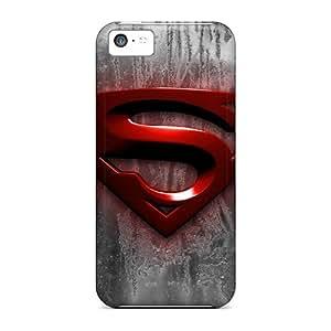 PamelaSmith Iphone 5c Shockproof Hard Cell-phone Cases Custom Colorful Superman Image [Zlv12992HLFz]